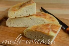 Имеретинские хачапури с сыром в мультиварке