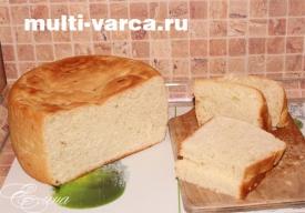 белый хлеб в мультиварке