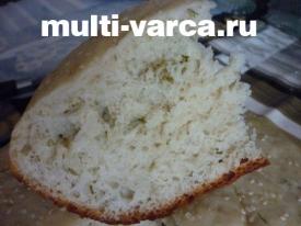 Картофельный хлеб в мультиварке