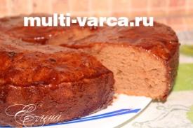 Шоколадный кекс в мультиварке, рецепт с фото