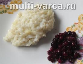 Рисовые котлеты на пару в мультиварке