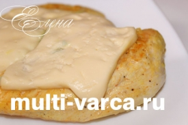 Куриное филе под сыром в мультиварке