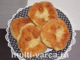 Татарские лепешки на сковороде