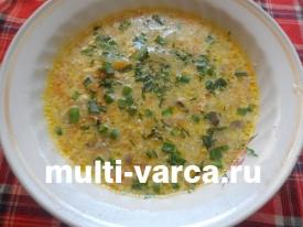 Грибной суп из свежих вешенок в мультиварке