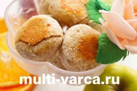 Диетическое кокосовое печенье в мультиварке