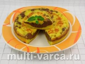 Тыквенный пирог с манкой в мультиварке