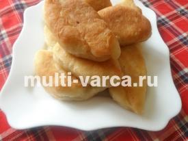 Дрожжевые пирожки с вишней в мультиварке