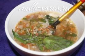 Гречневый суп-похлебка