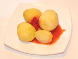Картошка в мундире в мультиварке