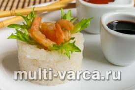 Рис для суши и роллов в мультиварке