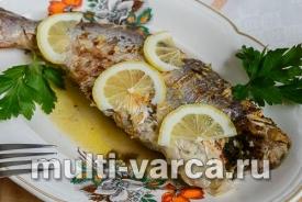 Рыба в аэрогриле, запеченная в фольге