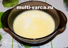 молочный суп с вермишелью в мультиварке