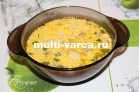 сырный суп в мультиварке рецепт