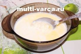 Молочный рисовый суп в мультиварке