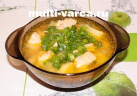 Суп гороховый в мультиварке