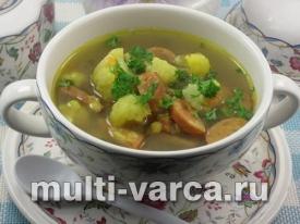Суп с чечевицей и цветной капустой