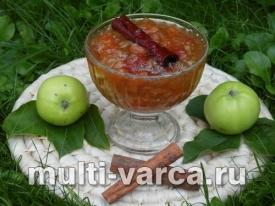 Варенье из недозрелых яблок