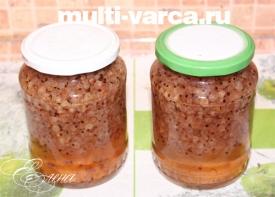 Варенье из смородины в мультиварке
