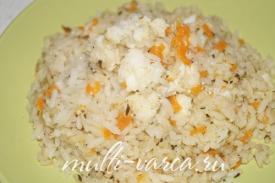 Зубатка запеченная в фольге в мультиварке с рисом
