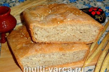 Пшенично-ржаной хлеб в духовке