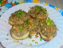 Фаршированный картофель в мультиварке