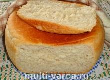 Хлеб в мультиварке на сыворотке