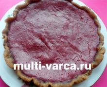 Вкусный вишневый чизкейк в мультиварке