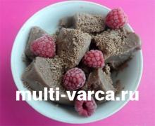 Как приготовить шоколадное мороженое в мультиварке