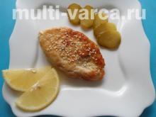 Рыба в сырном кляре в мультиварке
