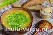 Постный геркулесовый суп
