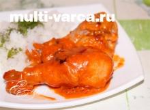Голень куриная в мультиварке