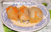 Голубцы из пекинской капусты в мультиварке рецепт