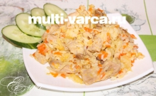 Рис с капустой в мультиварке
