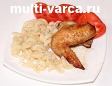 Как вкусно приготовить жареные хрустящие куриные крылышки с корочкой в меду и соевом соусе в мультиварке Редмонд