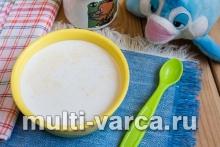 молочный суп в мультиварке с пшеном