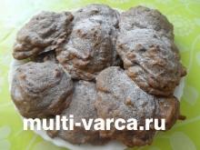 Печенье с сухофруктами в мультиварке