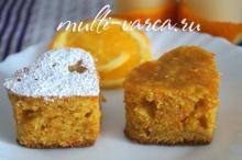 Морковно-апельсиновый пирог в мультиварке. Приготовление морковного пирога, рецепт с фото