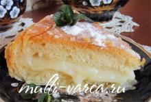 Фытыр в мультиварке, рецепт египетского пирога