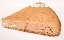 Пирог из киселя в мультиварке