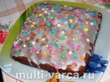 Как приготовить простой домашний сладкий пирог с клюквой и изюмом в духовке