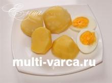 Как сварить картошку в мультиварке Редмонд