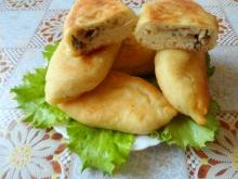 Пирожки с грибами в мультиварке