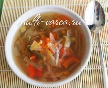 Суп из сельдерея в мультиварке