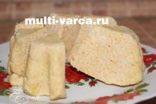Куриное суфле на пару в мультиварке рецепт с фото
