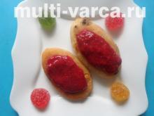 Сырники с изюмом из рисовой муки в мультиварке