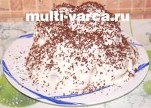 Торт из пряников без выпечки в мультиварке