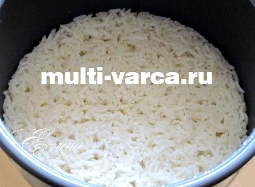 сварить рис в мультиварке редмонд
