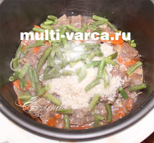 Рецепты со стручковой фасолью в мультиварке