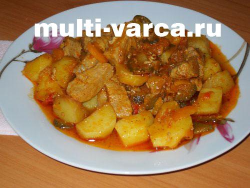 азу из свинины с картошкой рецепт