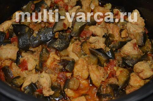 рецепт мусаки с баклажанами и картошкой в мультиварке
